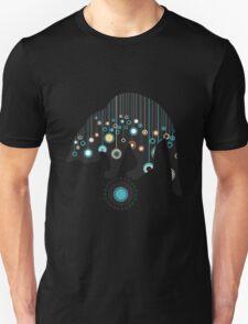 Black Magical Cat Vector Art T-Shirt