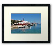 Patitiri harbour, Alonissos Framed Print