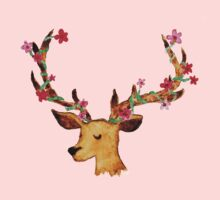 Watercolour Stag Kids Clothes