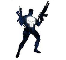 Punisher - Splatter Art Photographic Print