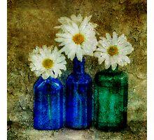 3 Bottles Photographic Print