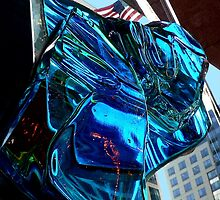 Blue Glass American by paintingsheep