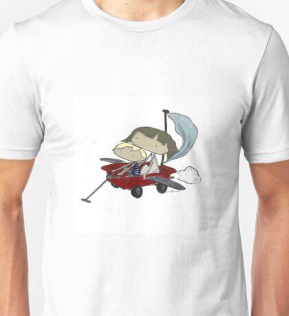Flight wagon Unisex T-Shirt