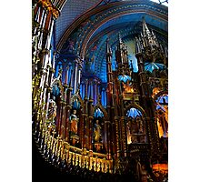 L'Eglise Notre Dame (Montreal) Photographic Print