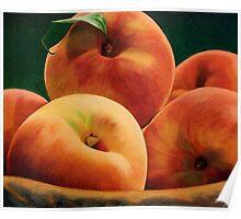 Peach Basket Poster