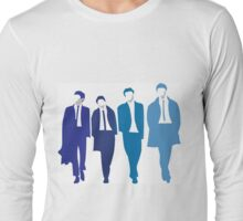 Shades of blue The Beatles Long Sleeve T-Shirt