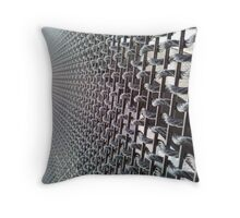Wire Threads Perspective Throw Pillow