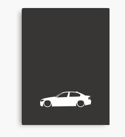 E90 German Family Sedan Canvas Print