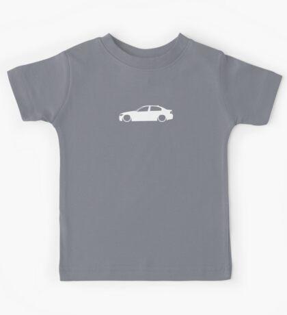 E90 German Family Sedan Kids Tee