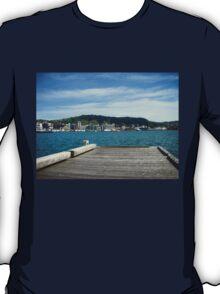 Wellington Pier Harbour View T-Shirt