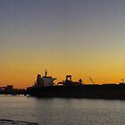 Port at Dusk by Ben Mattner