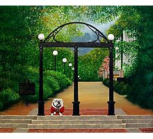 Archway to University Photographic Print
