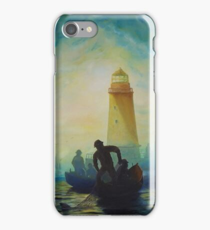 Early morning Fishing iPhone Case/Skin