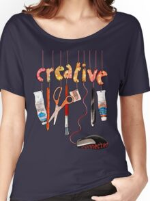 Connected Creative Women's Relaxed Fit T-Shirt