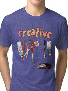 Connected Creative Tri-blend T-Shirt