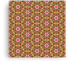 Colourful Geometric Pattern Canvas Print