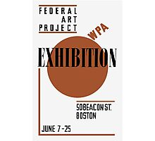 Federal Art Project WPA Exhibition Photographic Print