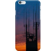 Glorious sunset on the Top of the Rock in New York iPhone Case/Skin