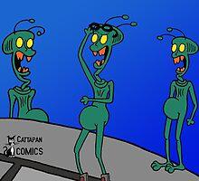 ZEEK ... The Martian Geek by CattapanComics