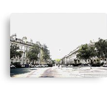 Distant Balloon over Pulteney Canvas Print