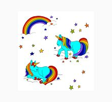 Rainbow magic unicorns stardust clouds and dreams yay! Unisex T-Shirt