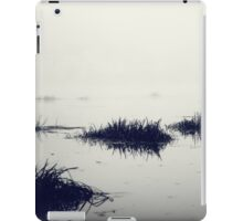 Fog over the river iPad Case/Skin