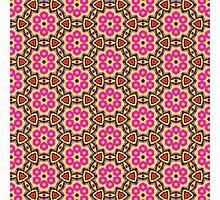Colourful Geometric Pattern 02 Photographic Print