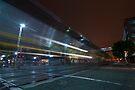 The Night Train at Jack London Square by MattGranz