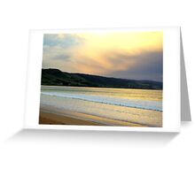 Victorian Sunset, Great Ocean Road Greeting Card