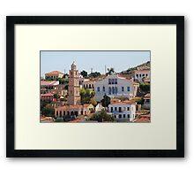 Emborio, Halki island Framed Print