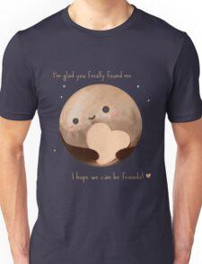 Hello Earth, I'm Pluto Unisex T-Shirt