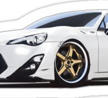 Boxer GT Car Sticker