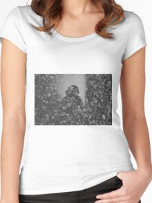 stone and mirror Women's Fitted Scoop T-Shirt