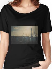"""""""There is a crack in everything. That's how the light gets in.""""  ~ Leonard Cohen Women's Relaxed Fit T-Shirt"""