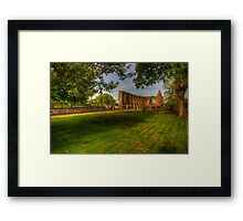 Dunfermline Abbey - The Ruin Framed Print