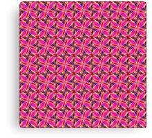 Colourful Geometric Pattern 03 Canvas Print