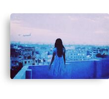 jetlagged Canvas Print