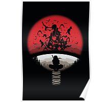Fan Clan Silhouette Poster