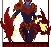 Shyvana - League of Legends by Brooky2660