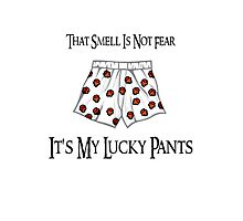 My Lucky Gaming Pants Photographic Print