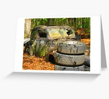 Coupe in the Woods Greeting Card
