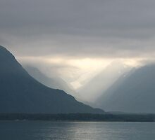 Mist in Prince William Sound--Alaska by Nancy Richard