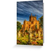 Dunfermline Abbey Scotland Greeting Card