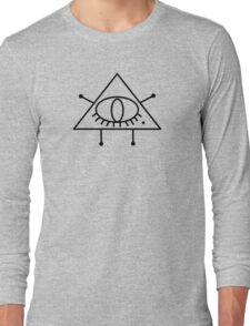 Triangle Marilyn Long Sleeve T-Shirt