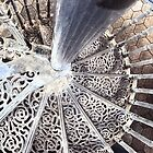 Stairs in a teahouse by Inese