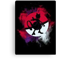Pokemon Mewtwo Canvas Print