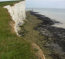 Beacon of the Coastal Headland, Beachy Head, England 2010 by J.D. Grubb