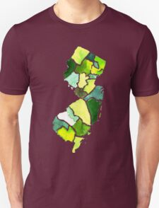 Jersey State Watercolor T-Shirt