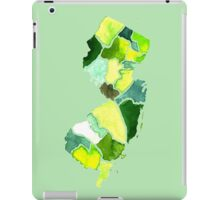Jersey State Watercolor iPad Case/Skin