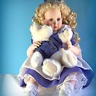 Doll and Friend by June Holbrook